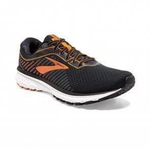 BROOKS GHOST 12 Homme | Black/Turbulence/Orange