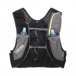 CAMELBAK Sac à dos d'hydratation Nano Vest 17oz - Quick Slow Flask   Graphite / sulphure spring