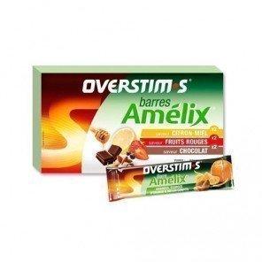 Amelix orange confite Overstim's - Barres énergétiques